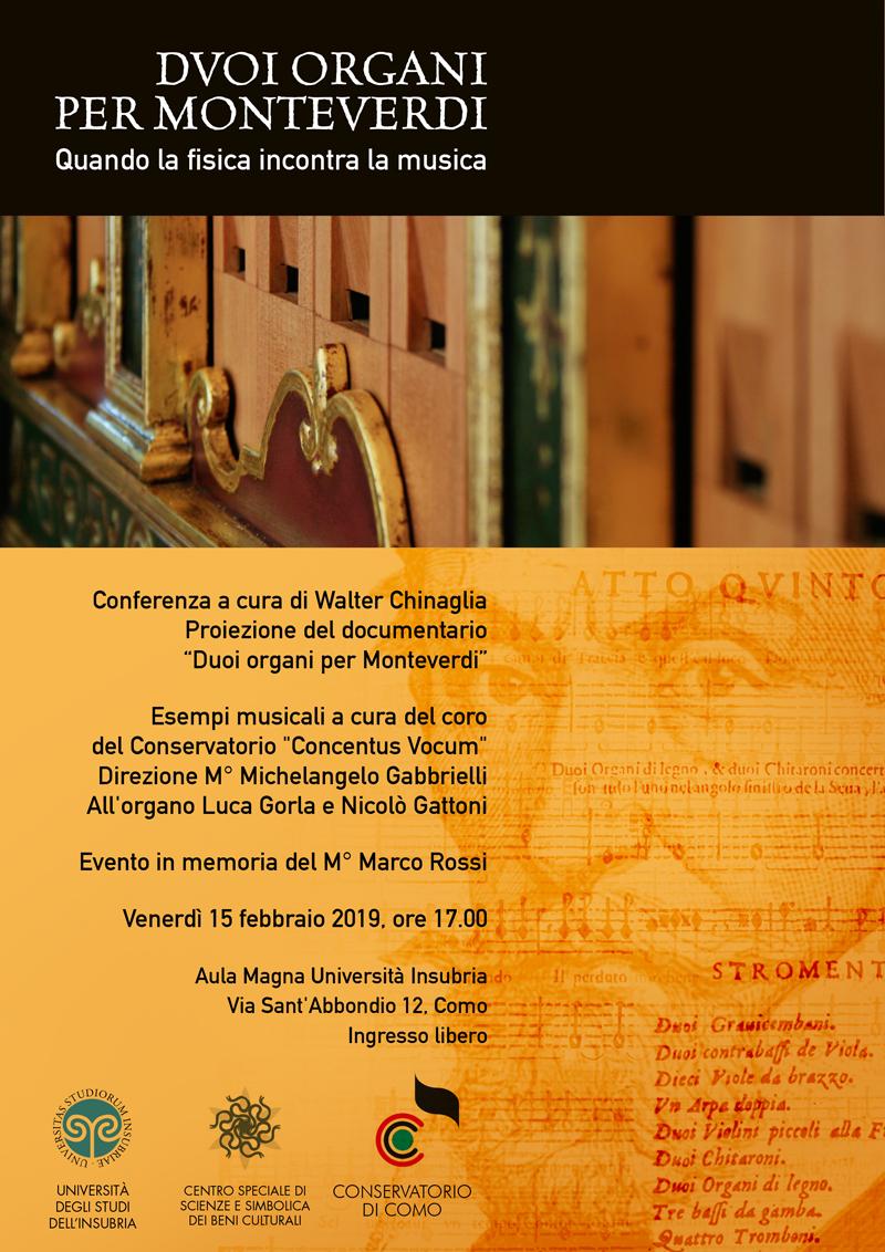 Como Insubria | Organa - Walter Chinaglia